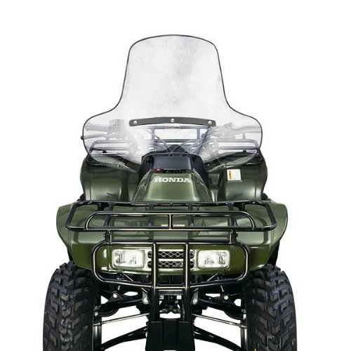 Arctic Cat Windshield - National Cycle Lexan ATV Windshield Low Headlight for 1995-2010 Arctic Cat Thun - One Size