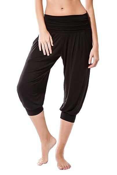 Sternitz Pantalon Fitness para Mujer, Rabi, Ideal para Hacer Pilates, Yoga y Cualquier Deporte, Tela de bambú, ecológica y Suave. Pantalón Tipo ...