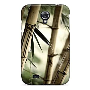 Top Quality Case Cover For Galaxy S4 Case With Nice Bamboo Appearance