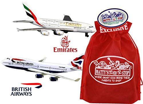Daron Emirates A380 & British Airways A380 Die-cast for sale  Delivered anywhere in USA