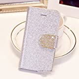 Popular Crystal Diamond Glitter Bling Flip Wallet Stand Case Cover 6 Colors For Samsung 9300/S3