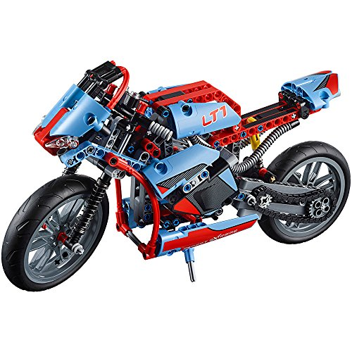 Amazon.com: LEGO TECHNIC Street Motorcycle 375 Pieces Kids ...