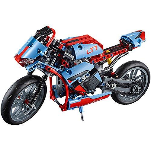 Amazon.com: LEGO TECHNIC Street Motorcycle 375 Pieces Kids ...