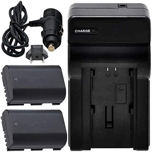 80D 6D Ultimaxx 58MM Accessory Kit for Canon EOS 70D 5DSR 7D Mark II 90D 6D Mark II 5DS and More and More; Includes: 2X LP-E6 Batteries 2.2X Telephoto Lens 7D