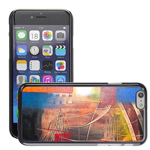 """Premio Sottile Slim Cassa Custodia Case Cover Shell // V00001927 Peinture abstraite // Apple iPhone 6 6S 6G 4.7"""""""