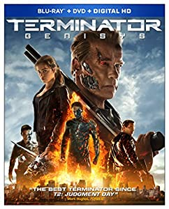 Cover Image for 'Terminator Genisys (Blu-ray + DVD + Digital HD)'