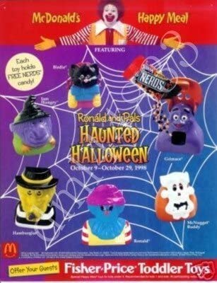 Mcdonalds Happy Meal Toy Halloween 2020 Amazon.com: McDonalds   Ronald and Pals Haunted Halloween Happy