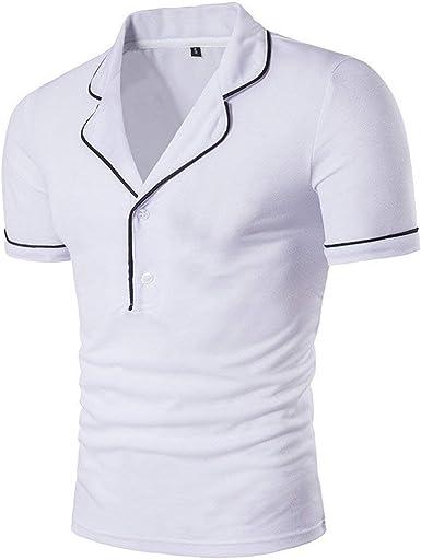 Camisa De Manga Corta Camisetas Camisa De Jersey Mode De Polo ...