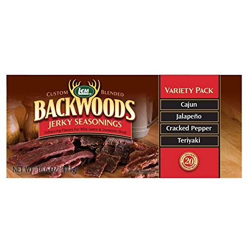 Backwoods Jerky Variety Pack (Spicy)