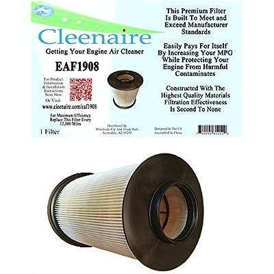 Cleenaire EAF1908 Air Filter For 12-18 Focus, 13-18 Escape 1.6L 2.0L, 14-18 Transit Connect, 15-18 MKC: Automotive