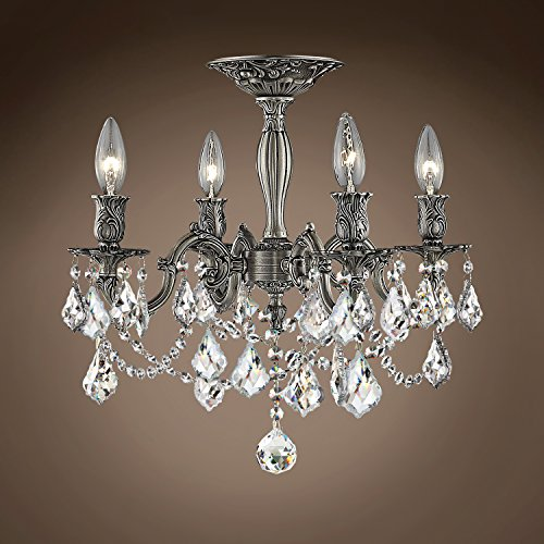 (Joshua Marshal 701585-006 - Traditional Versailles 4 Light 17