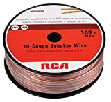 RCA CAH14100SR 14-Gauge Speaker Wire (100-Feet)(Packaging may vary)