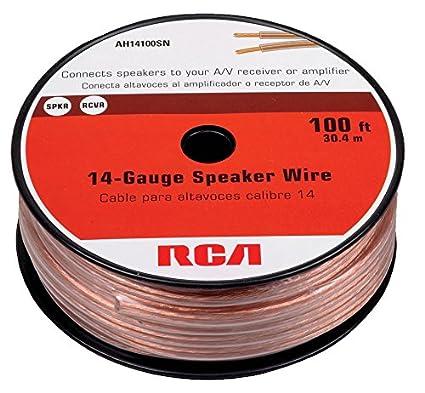 RCA CAH16100 100-Feet 16-Gauge Speaker Wire Audiovox CA