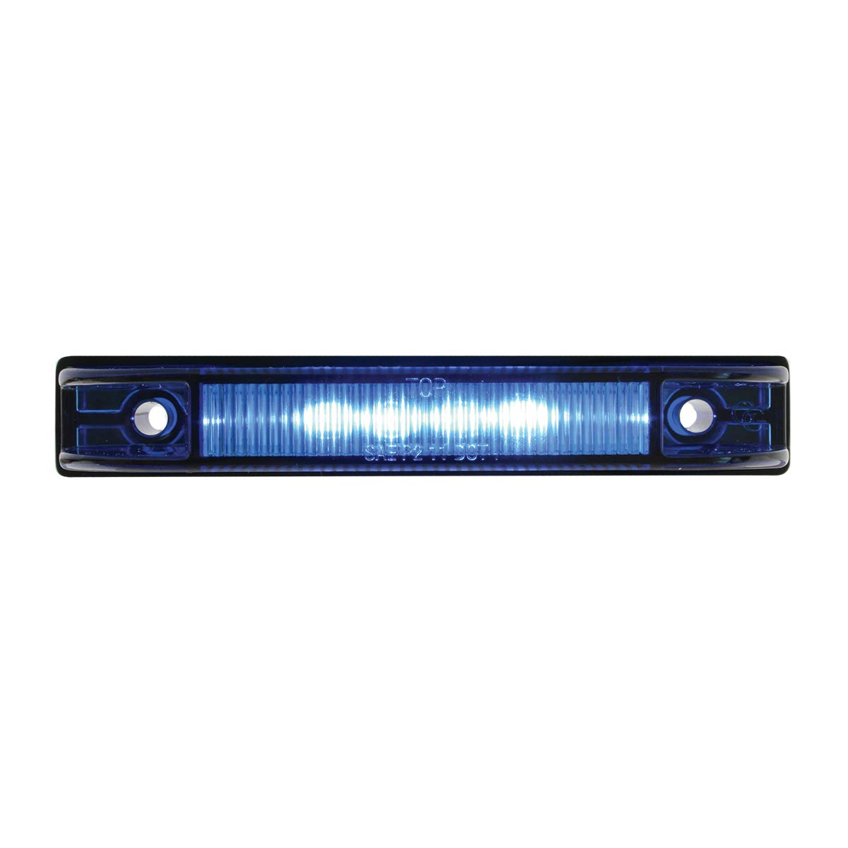 4 Thin Line Blue 6 LED Wide Angle Interior GG Grand General 76224 Light