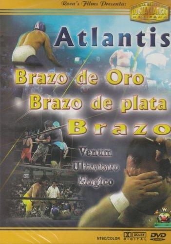 La Mejor Lucha Clasica Mexicana  Atlantis Brazo De Oro  Brazo De Plata