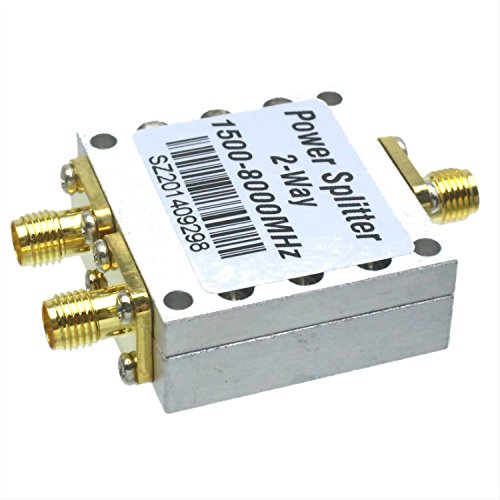 RF coaxial Power Splitter Divider Combiner SMA 2-way 1.5~8.0GHz signal (Power Splitter Combiner)