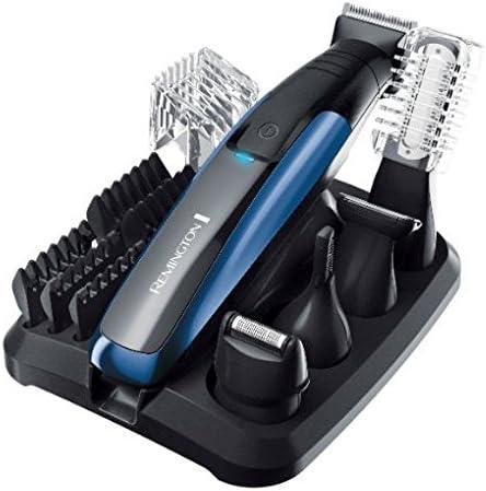 Barbero Remington pg-6160 recargable Waterproof Negro, Azul ...