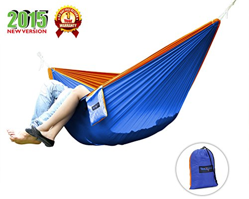 Yes4All Ultra Light Hammocks - Double - BlueOrange - FBK6Z