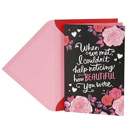 - Hallmark Valentine's Day Card for Wife or Girlfriend (Roses on Black)