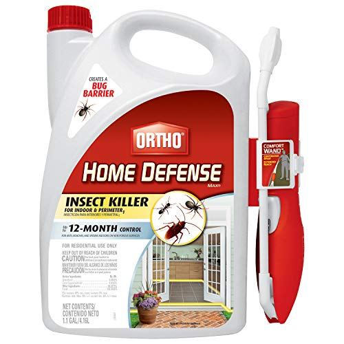Ortho Home Defense MAX Insect Killer for Indoor & Perimeter1 with Comfort Wand - Kills Ants, Cockroaches, Spiders, Fleas…