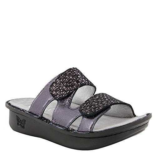 (Alegria Camille Womens Sandal Tile Me More Pewter 7 M US )