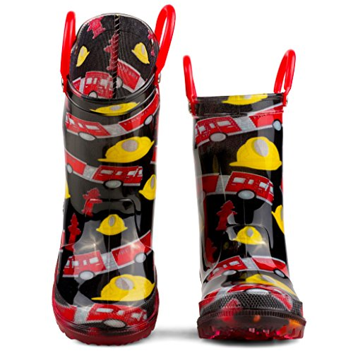 Chillipop Children's Light Up Rain Boots, Little Kids & Toddlers, Boys & Girls by Chillipop (Image #2)'
