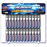 ACDelco AAA Batteries, Super Alkaline AAA Battery, High Performance, 48 Count Pack