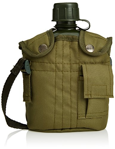 Relaxdays Feldflasche Military Look 1 Liter
