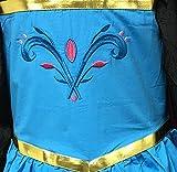 American Vogue Elsa Coronation Dress Costume + Cape