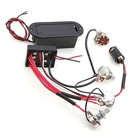 Belcat 2 Band Active Bass Gitarre EQ Equalizer Vorverstärker Circuit ...