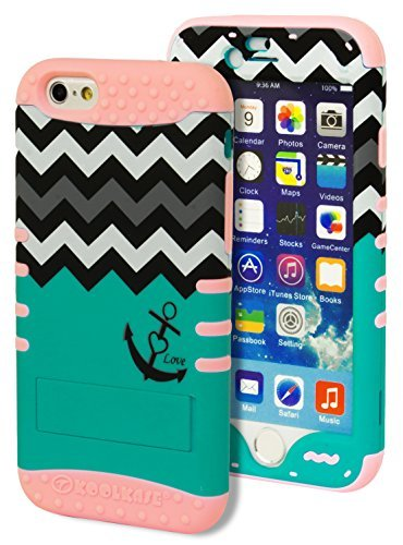 iPhone 6 Case, Bastex Heavy Duty Hybrid Kickstand - Tel Iphone 6