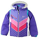 Obermeyer Kids Baby Girl's Sierra Jacket with Fur (Toddler/Little Kids/Big Kids) Grapesicle 6