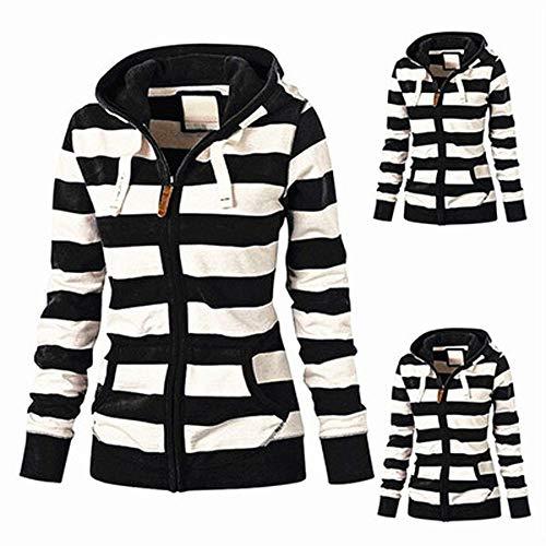 SMALLE ◕‿◕ Clearance,Hoodie for Women, Ladies Zipper Tops Hoodie Hooded Sweatshirt Coat Jacket Casual Slim Jumper by SMALLE