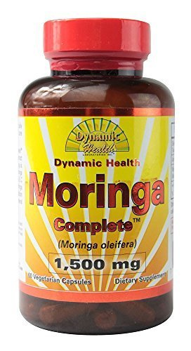Moringa Complete, 1500 mg, 60 Cap (Pack of 6) by DYNAMIC HEALTH LABORATORIES INC