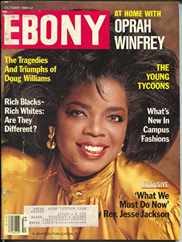 Ebony 10/1988-Oprah-Doug Williams-campus ()