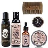 Skully's Ultimate Isla De Muerta Beard Care Kit, beard kit for men