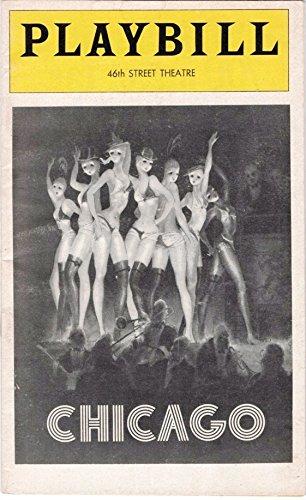 (Playbill, 46th Street Theatre: Chicago, December 1975 (Gwen Verdon, Chita Rivera, Jerry Orbach) )