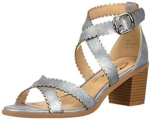 Sbicca WoMen Tassie Heeled Sandal Silver