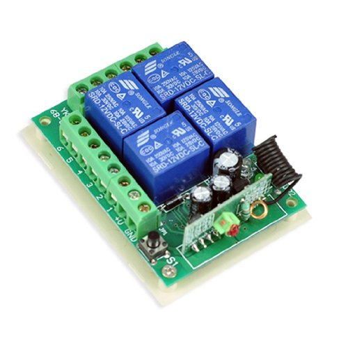 hot thunbird new 12v 4 channel wireless remote control receiver thunbird new 12v 4 channel wireless remote control receiver momentary switch