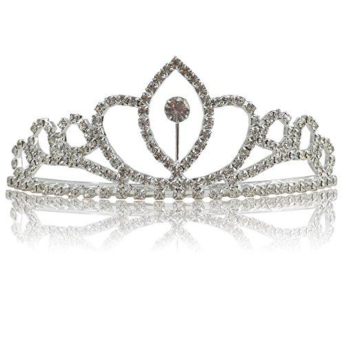 Nuptiaux Katara Mariée 1669 D'honneur De PrincesseTiare Set En Serre Diadème 4 Pièces tête StrassPour Demoiselle Diadèmes Ou 2 QrdWxBeCoE