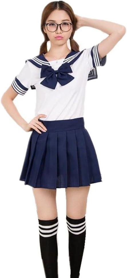JYSPORT - Disfraz de colegiala japonesa para mujer, estilo sexy ...