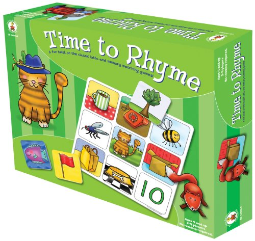 Carson-Dellosa Publishing Time to Rhyme (Lotto Memory Game)
