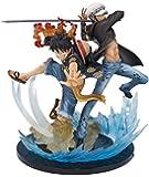 "Bandai Tamashii Nations Monkey D Luffy and Trafalgar Law-5th Anniversary Edition ""One Piece"" Figuarts Zero"