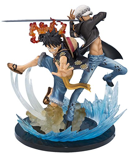 Bandai Tamashii Nations Monkey D Luffy & Trafalgar Law 5th Anniversary Edition