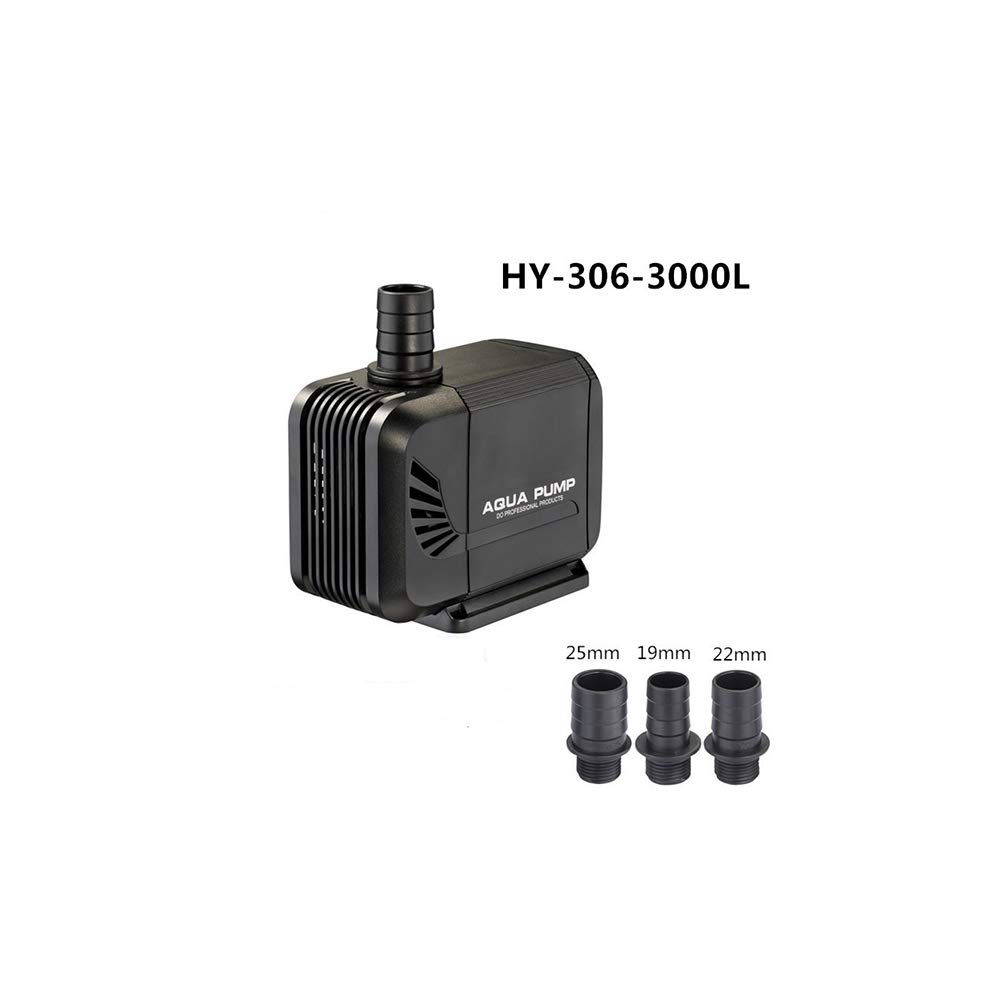 40w X&MX Submersible Pump 4500L   H Mini Amphibious Water Pump, Fish Tank, Fountain, Hydroponic Tank (72W),45W