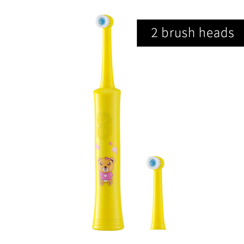Amazon.com: Rotating Children Electric Toothbrush Tooth Brush Teeth Electric Toothbrush Rechargeable Hygiene Dental Care,R01 yellow: Beauty