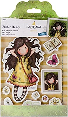 SANTORO GORJUSS- Sello de Goma, (docrafts GOR 907133): Amazon.es ...