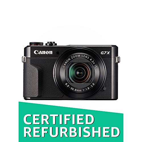 Canon PowerShot G7 X Mark II Digital Camera w/ 1 Inch Sensor