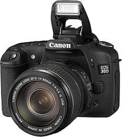 Canon EOS 30D - Cámara Réflex Digital 8.2 MP (Objetivo EF-S 17 ...