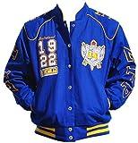 Sigma Gamma Rho Sorority Womens Twill Jacket Medium Blue
